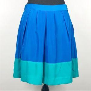 J. Crew | Color Block Skirt | 6